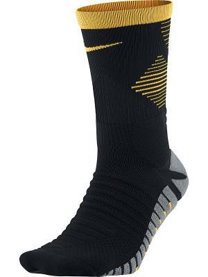 Носки U NK STRK MERC CREW Nike. Цвет: черный, оранжевый