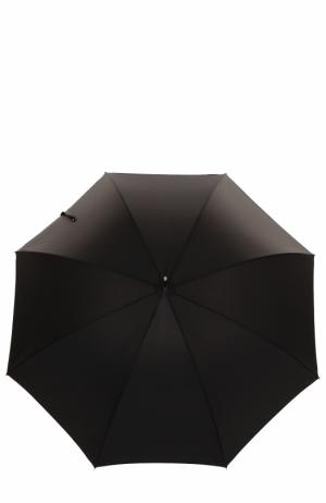 Зонт-трость Silver Labrador Pasotti Ombrelli. Цвет: черный