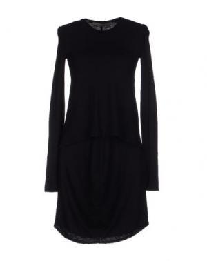 Короткое платье SUPERFINE. Цвет: черный