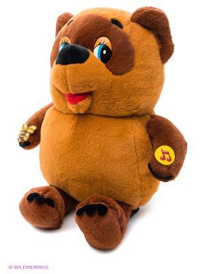 Мягкая игрушка Винни-Пух Мульти-пульти. Цвет: коричневый