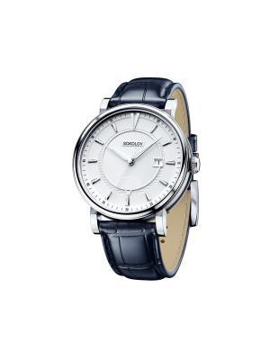 Часы ювелирные коллекция Pulse SOKOLOV. Цвет: синий, белый