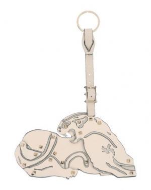 Брелок для ключей VALENTINO GARAVANI. Цвет: слоновая кость