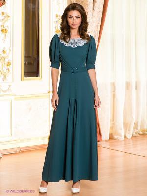 Платье Ksenia Knyazeva. Цвет: морская волна
