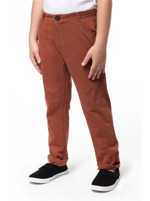 Брюки Vilatte. Цвет: коричневый