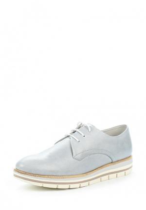 Ботинки Marco Tozzi. Цвет: голубой