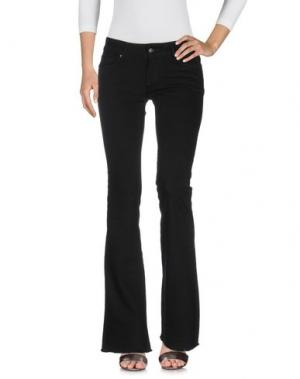 Джинсовые брюки CIMARRON. Цвет: черный