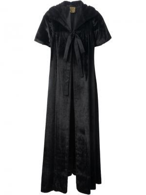 Пальто Opera Biba Vintage. Цвет: чёрный