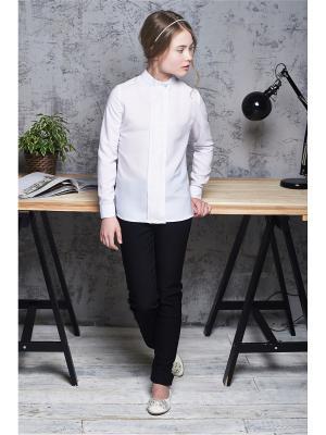 Блуза для дев ШЕЛК I love to dream. Цвет: белый