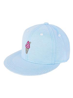 Кепка Мороженое (голубая) Kawaii Factory. Цвет: голубой