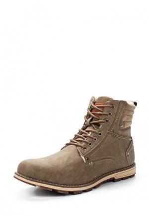 Ботинки Moza-X. Цвет: бежевый