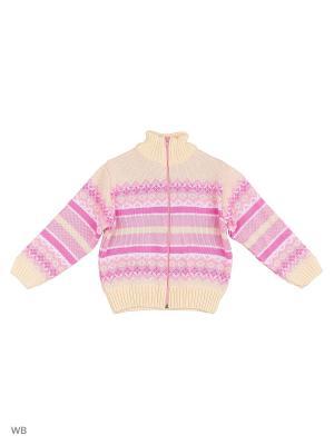 Кофта Babycollection. Цвет: розовый, молочный