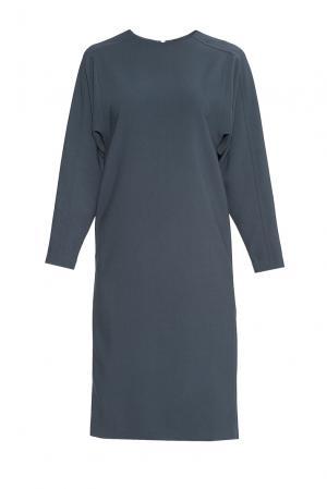 Платье из искусственного шелка с вискозой 175923 Cyrille Gassiline. Цвет: синий