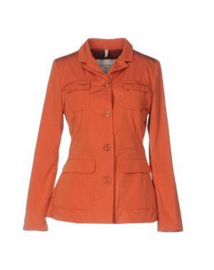 Пиджак GEOSPIRIT. Цвет: оранжевый