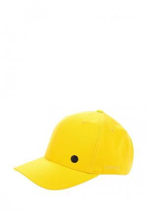Бейсболка Zasport. Цвет: желтый
