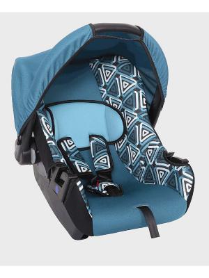 Детское автомобильное кресло ЭГИДА коллекция ART SIGER. Цвет: голубой