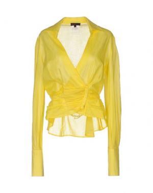 Pубашка EXTE. Цвет: желтый