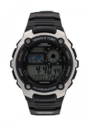 Часы Casio. Цвет: черный