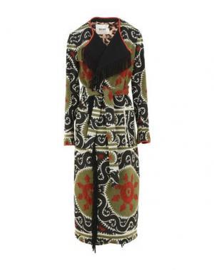 Легкое пальто BAZAR DELUXE. Цвет: зеленый-милитари