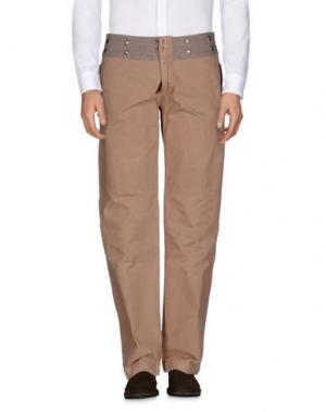 Повседневные брюки RA-RE. Цвет: верблюжий