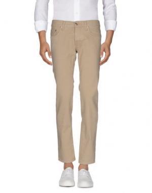 Джинсовые брюки DEPARTMENT 5. Цвет: бежевый