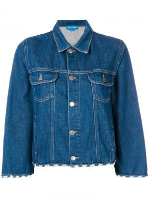 Джинсовая куртка Arch Mih Jeans. Цвет: синий