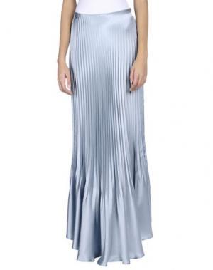 Длинная юбка LUISA BECCARIA. Цвет: небесно-голубой