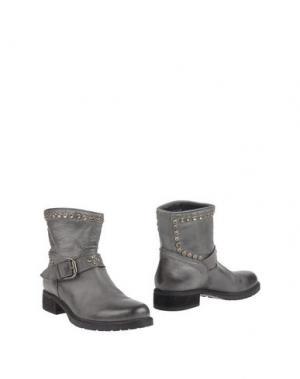 Полусапоги и высокие ботинки STRATEGIA. Цвет: свинцово-серый
