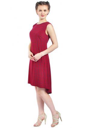Платье Rise. Цвет: красный (бордовый)