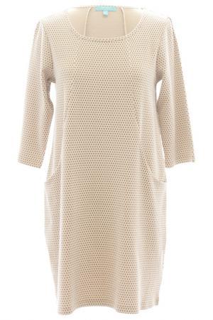 Платье FEVER LONDON. Цвет: белый