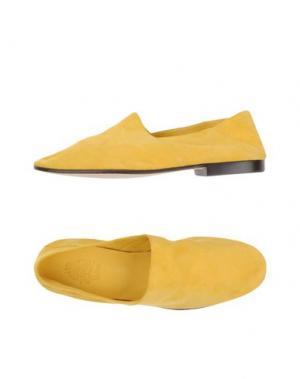 Мокасины MR.HARE. Цвет: светло-желтый