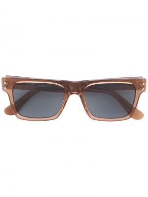 Солнцезащитные очки Faith Earth Our Legacy. Цвет: коричневый