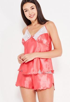 Пижама Belweiss. Цвет: коралловый