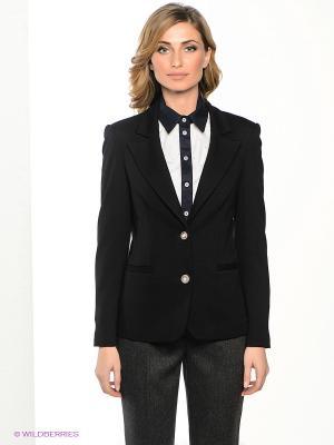 Пиджак Yulia Dushina. Цвет: черный