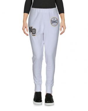 Повседневные брюки MY T-SHIRT. Цвет: белый
