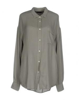 Pубашка TRUE TRADITION. Цвет: серый