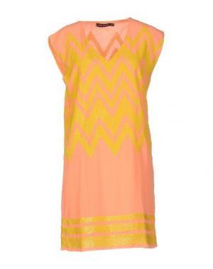 Короткое платье ANTIK BATIK. Цвет: лососево-розовый