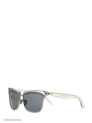 Солнцезащитные очки Vita pelle. Цвет: прозрачный