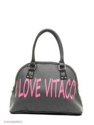 Сумка Vitacci. Цвет: черный