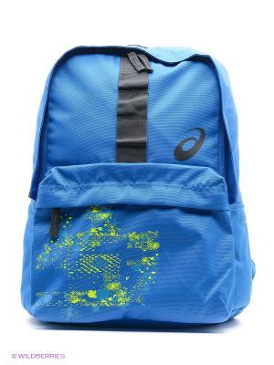 Рюкзак BTS BACKPACK ASICS. Цвет: синий