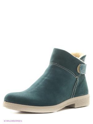 Ботинки Marko. Цвет: зеленый