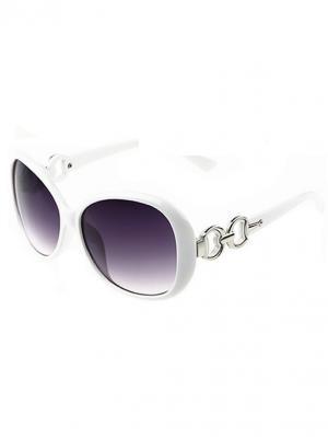 Солнцезащитные очки Leya.. Цвет: белый, черный