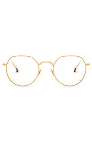 Очки оптикал dauphine Ahlem. Цвет: металлический золотой