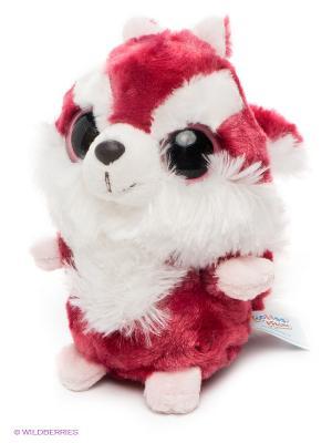 Игрушка Красная Белка, 12см. AURORA. Цвет: розовый, белый
