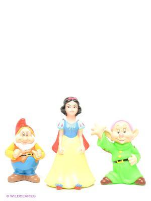 Набор из 3-х игрушек для купания Играем вместе disney. Цвет: салатовый, коричневый, желтый
