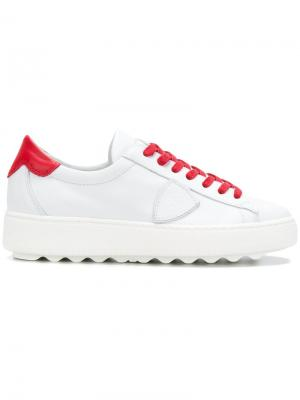 Кроссовки Madeline Philippe Model. Цвет: белый
