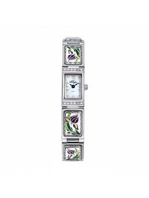 Часы Mikhail Moskvin. Цвет: зеленый, серебристый, темно-фиолетовый