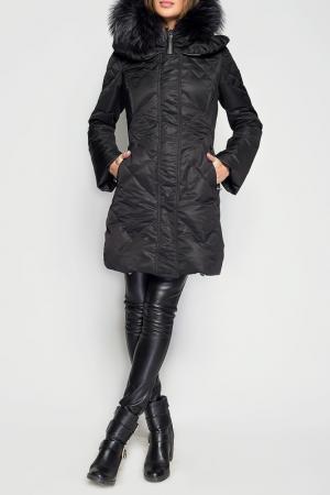 Пальто Giorgio. Цвет: черный