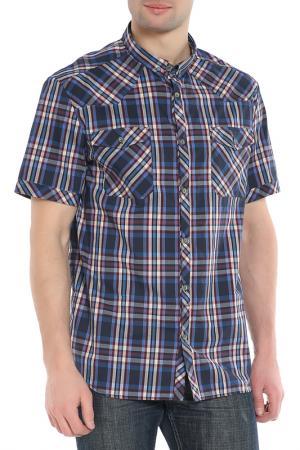 Рубашка, короткий рукав CNC Costume National C'N'C. Цвет: синий