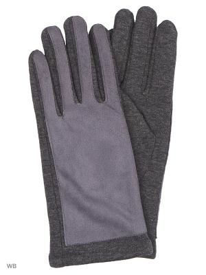 Перчатки Punta. Цвет: серо-голубой