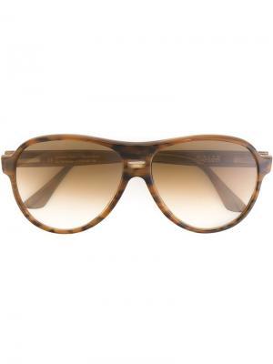 Солнцезащитные очки Jurriaan Ralph Vaessen. Цвет: коричневый